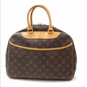Authentic Louis Vuitton Monogram Deuville Bag
